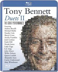 Cover Tony Bennett - Duets II - The Great Performances [DVD]